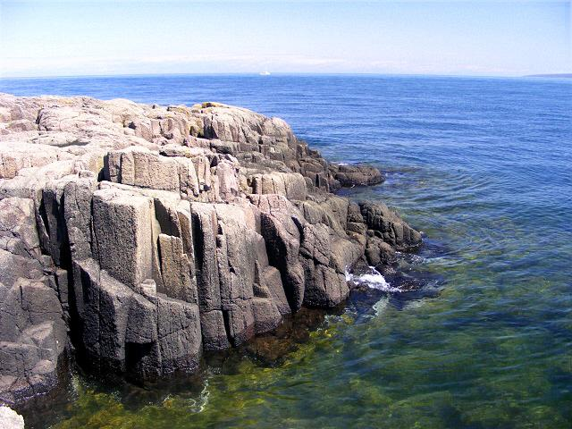 Basalt Cliffs on Brier Island