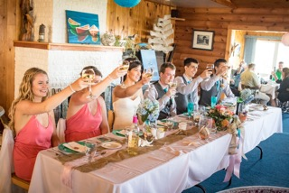 Brier Island Lodge Wedding Beach Bride photography 1
